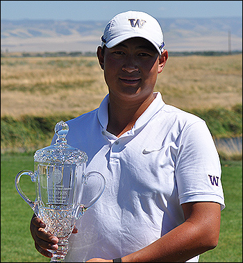 Winner of the 115th PNGA Men's Amateur Championship, Carl Yuan