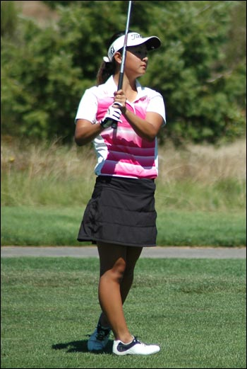 Brittany Kwon during day 4 of the 2016 PNGA Girls' Junior Amateur Championship.
